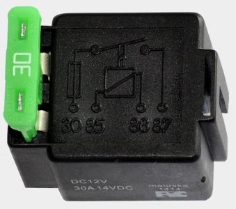 Relay N o  - 12V/30A with Fuse